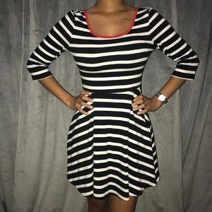 Striped Express Dress